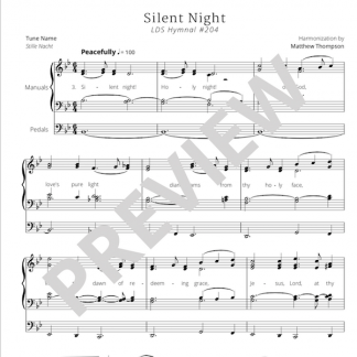 Hymn 204 - Silent Night - Preview