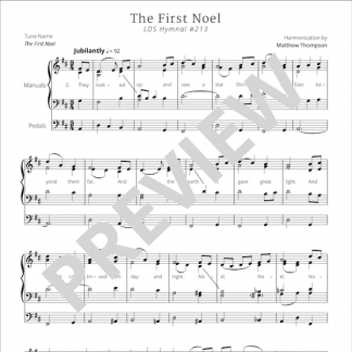 Hymn 213 Preview - The First Noel