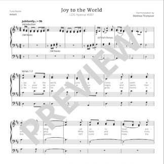 hymn #201 - Joy to the World